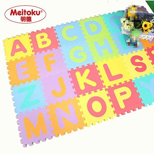 Awardpedia Soft Foam Alphabet Baby Puzzle Play Mat 26