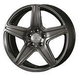 タルガ (TARGA / TAS) エージーエー(AGA) 19インチ アルミホイール AGA Burg for Mercedes-benz ■ 8.5J PCD:112 5H +38 チタングレー 1本 -