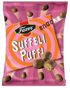 Amazon.com : Fazer Suffeli Puffi Snacks Candy Bag : Grocery & Gourmet
