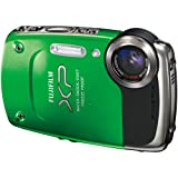 Fujifilm FinePix XP20 Green 14 MP Digital Camera with 5x Optical Zoom and 2 ....
