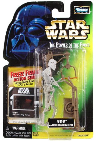 Star Wars: Power of the Force Freeze Frame > 8D8 Action Figure - 1