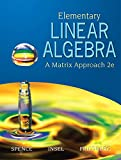img - for Elementary Linear Algebra (2nd Edition) book / textbook / text book