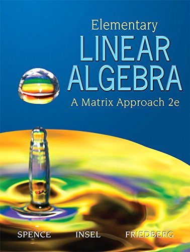 Elementary Linear Algebra (2nd Edition)