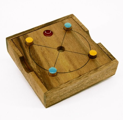 Red Sun - Wooden Startegy Game
