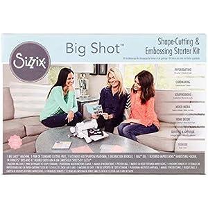 Sizzix 661500 Big Shot Starter Kit (US Version), White/Gray
