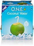 O.N.E. 100% Pure Coconut Water, 11.2 oz. containers (24 Pack)