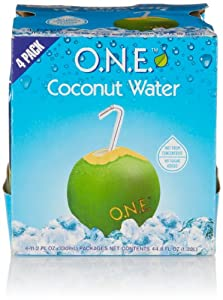 O.N.E. Coconut Water (4 Count, 11.2 Fl Oz Each)