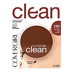CoverGirl Clean Pressed Powder Classic Beige (N) 130 0.39 Ounce Pan