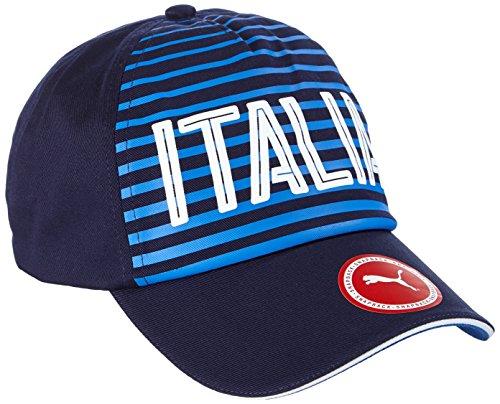 Puma Berretto Italia , Unisex, Cap Italia Fanwear, blu, Taglia unica