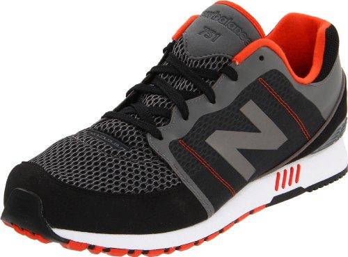 New Balance Men'S Ml751 Sneaker,Black,9.5 D Us