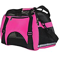 Soft Sided Pet Carrier for Dogs Cats Puppies Airline Approved Travel Tote Bag Portable Handbag Shoulder Bag for Pets
