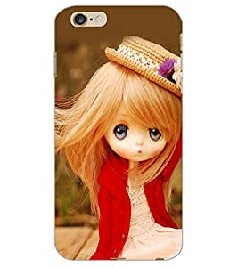 APPLE IPHONE 6 S PLUS CUTE GIRL Back Cover by PRINTSWAG