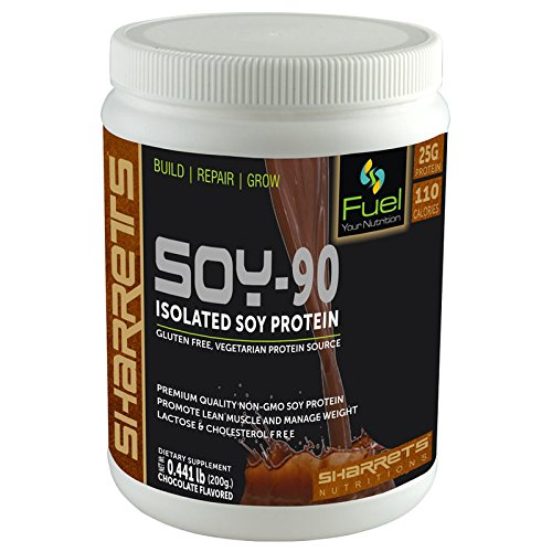 Sharrets - Isolated Soy Protein 90% CHOCO. Flavor 200g