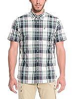 ZZZ-PEAK PERFORMANCE Camisa Hombre Eric Bd Ss (Verde / Morado)