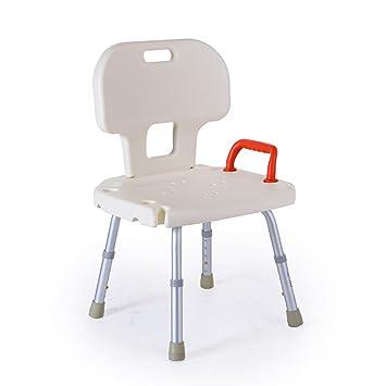 flashing lights- Bad Stuhl Aluminiumlegierung alte schwangere Frau mit einem Sprinkler Duschhocker Stuhle Badezimmer Stuhle Badewanne Ausstattung