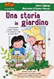 Una storia in giardino... tra pomodori, origano, basilico... e un simpatico cane di nome Blof!
