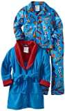 Baby Bunz Boys 2-7 Toddler All Star 3 Piece Robe And Pajama Set