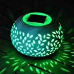 Colour Changing Solar Powered Ceramic...