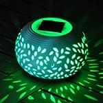 Solar Powered Ceramic Decorative Ston...