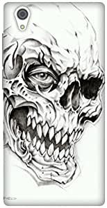 The Racoon Grip Skulls hard plastic printed back case / cover for Vivo Y51