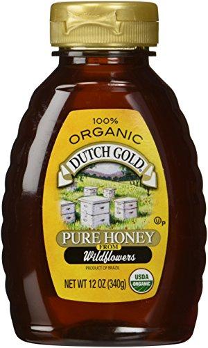 Dutch Gold Honey 100% Organic Wildflower Honey 12 oz.