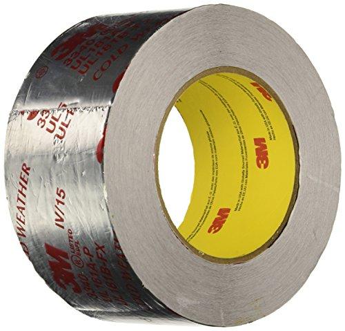 3M Silver Foil Tape 3340, 2-1/2″ x 50 yd, 4.0 mil