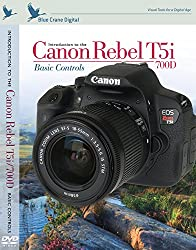 Blue Crane Digital Canon Rebel T5i/700D inBrief Laminated Reference Card (zBC554)