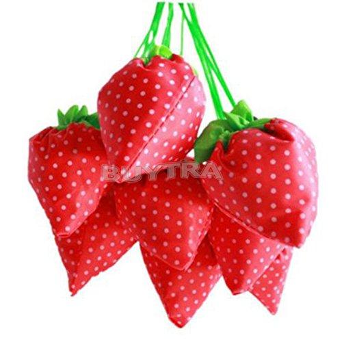 Amazing-Trading-Einkaufstasche-Erdbeere-faltbar-umweltfreundlich-wiederverwendbar-Lebensmittel-Tragetasche