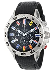 Nautica N16553G Chronograph Black Watch