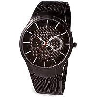 Skagen Men's SK809XLTBB Titanium Black Dial Watch from Skagen