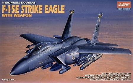 Academy 02117 F15E Strike Eagle 1:48 F-15 Plastic Kit Maquette