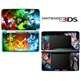 Pokemon X Y Special Edition Decorative Video Game Decal Cover Skin Protector for Nintendo 3Ds (not 3DS XL)