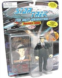 "Star Trek the Next Generation Commander Data in 1940's Attire 4.5"" Action Figure"