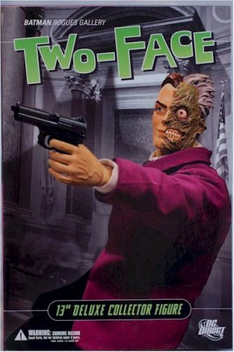 Buy TWO FACE 13 INCH DELUXE COLLECTOR FIGURE