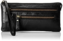 Latico Barnard Clutch, Black, One Size