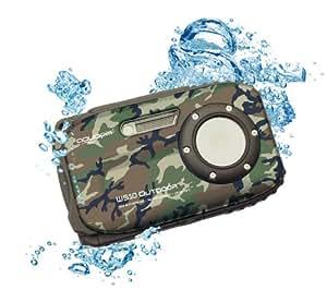 Easypix Aquapix W510 Appareil photo numérique compact étanche 2,7'' (6,9 cm) 5 Mpix Zoom optique 8x Multicolore