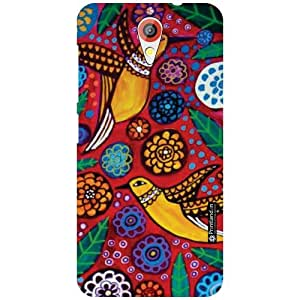 HTC Desire 620G Printed Mobile Back Cover