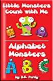img - for Counting Numbers: Little Monsters - Count with Me & Alphabet Monsters ABC book / textbook / text book
