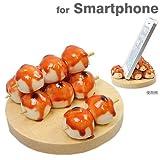 各種 スマートフォン 対応 食品サンプル スマホ スタンド / みたらし団子