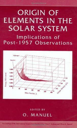 Origin of Elements in the Solar System:: Implications of Post-1957 Observations