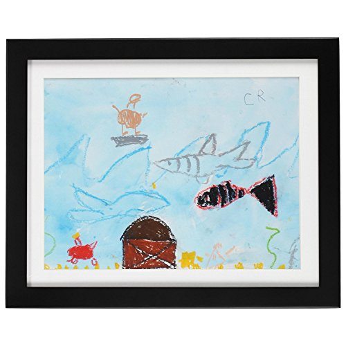 Child Artwork Frame - Display Cabinet Frames And Stores Your Child's Masterpieces - 8.5