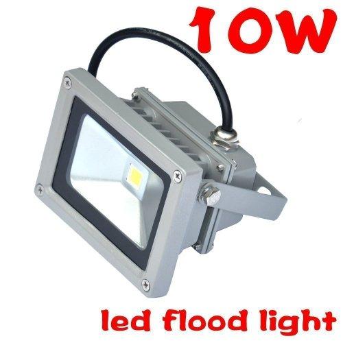 Hossen® 10 Watt Led Waterpoof Outdoor Security Floodlight 50W Halogen Equivalent