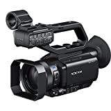 Sony PXW-X70//C Ultrakompakter Camcorder, 20 Megapixel, Exmor R XDCAM, Carl Zeiss-Optik, 12x optischer Zoom, 3G SDI, 422 10Bit XAVC-Aufzeichnung, XLR-Einheit mit Griff, 2x SD-Kartenslot, NFC/WiFi-Fernsteuerung) schwarz