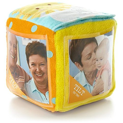 Hallmark Recordable Plush Photo Block Cube
