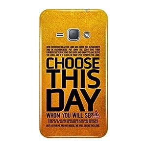 a AND b Designer Printed Mobile Back Cover / Back Case For Samsung Galaxy J1 (2016) (SG_J1_16_3D_3399)