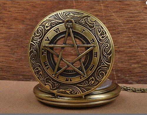 Часы с пентаграммой