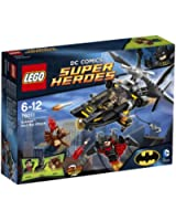 Lego Super Heroes - Dc Universe - 76011 - Jeu De Construction - Batman - L' Attaque De Man-bat