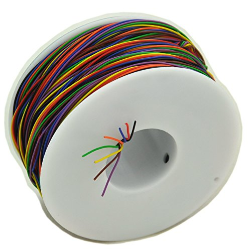 electronics-salon-8-colors-30awg-insulation-test-wrapping-wire-tinned-copper-solid-cable