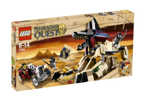 lego pharaoh 39 s quest 7327 pyramide des pharaos neu. Black Bedroom Furniture Sets. Home Design Ideas