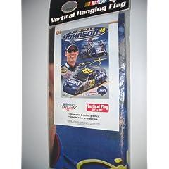 Jimmie Johnson Banner vertical flag 27 x 37 by NASCAR